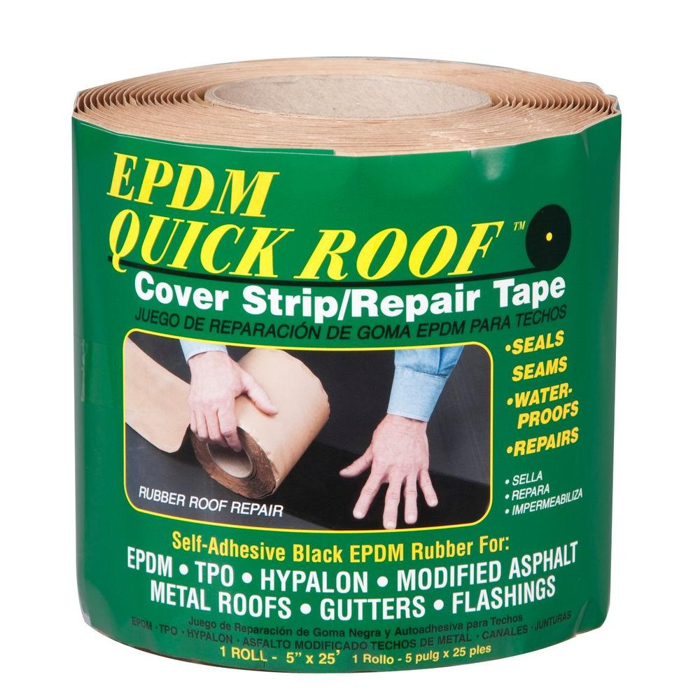 Quick Roof EPDM Self Adhesive Cover Strip For Single Ply Roofing