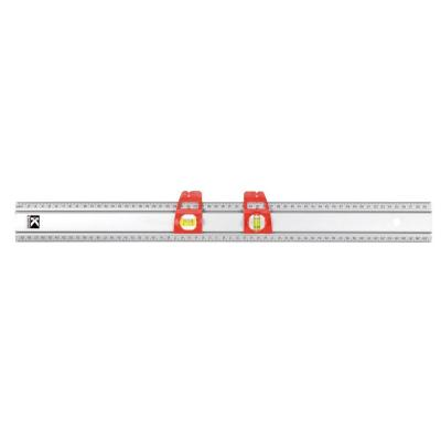 36 in. Set and Match Ruler with Sliding Vials with English Graduations 1/8