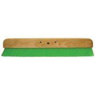 24 in. Green Nylex Soft Finish Broom Head
