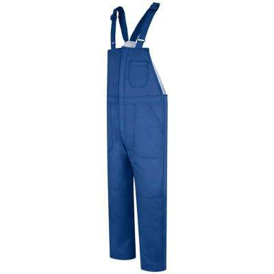 EXCEL FR ComforTouch Men's Medium Royal Blue Deluxe Insulated Bib Overall