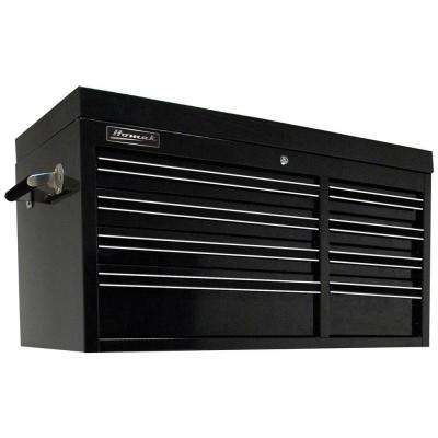 Professional 41 in. 8-Drawer Top Chest, Black