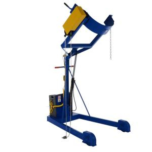 Vestil 72 inch Dc Power Portable Hydraulic Drum Carrier/Rotator/Booms by Vestil
