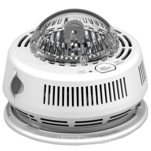 First Alert BRK Photo-Electric Hardwired Smoke Detector with Strobe Light Alarm by First Alert