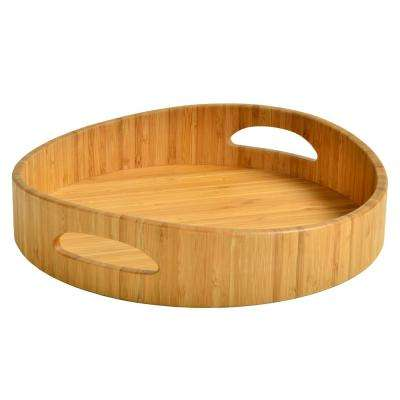 Bamboo Curved Cocktail Tray