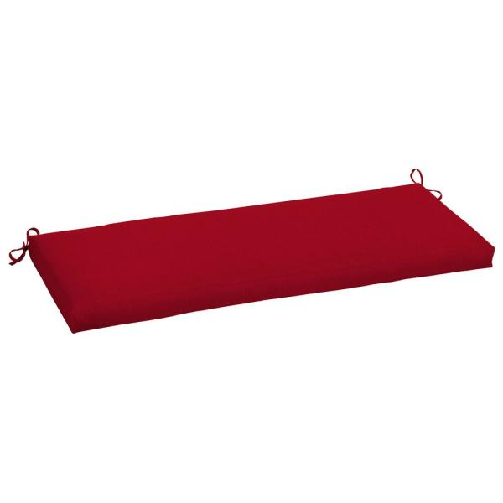 48 x 18 Sunbrella Spectrum Cherry Outdoor Bench Cushion