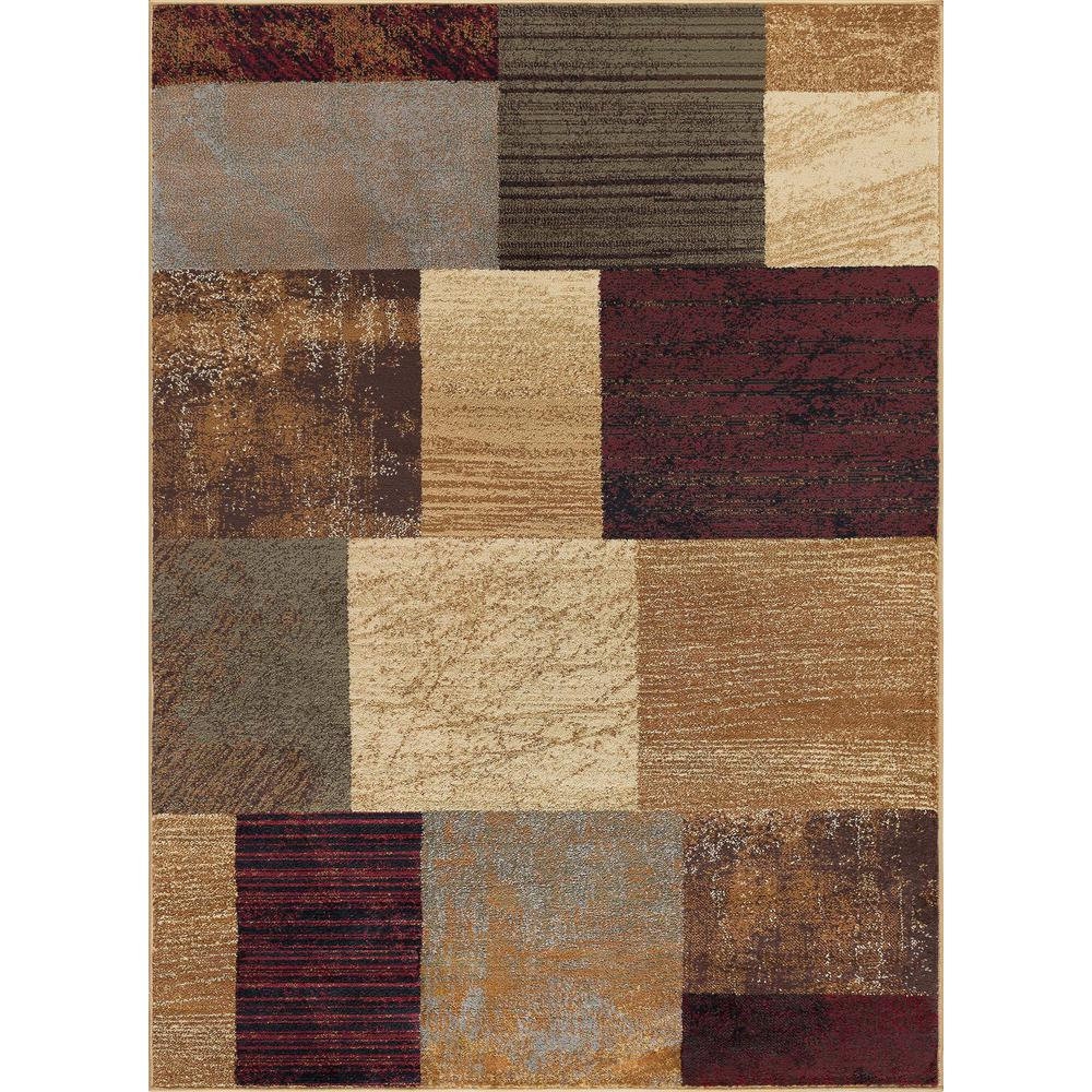 Tayse Rugs Elegance Multi 8 Ft X 10 Ft Contemporary Area