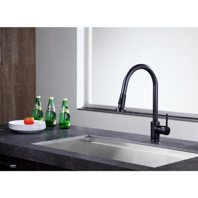 Somba Single-Handle Pull-Out Sprayer Kitchen Faucet in Oil Rubbed Bronze