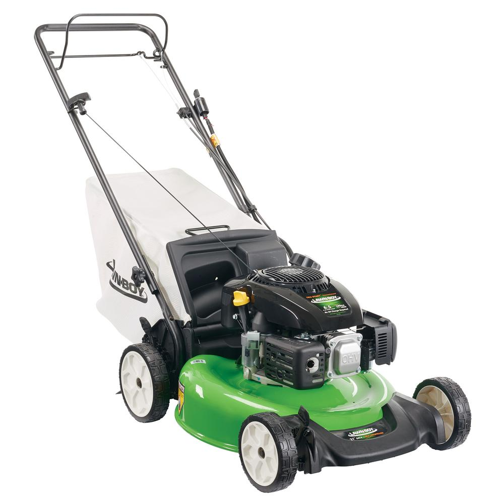 Lawn-Boy 21 in  Electric Start Gas Walk Behind Self Propelled Lawn Mower  with Kohler Engine