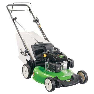21 in. Electric Start Gas Walk Behind Self Propelled Lawn Mower with Kohler Engine