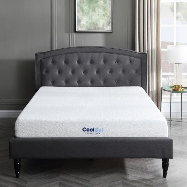 SLEEP OPTIONS Cool Gel King Size 8 in. Gel Memory Foam Mattress