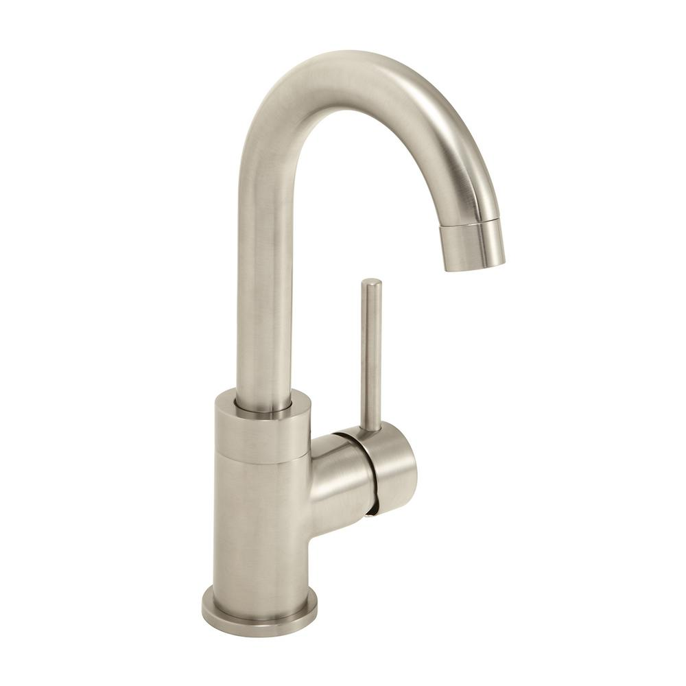 Neo Faucet: Speakman Neo Single-Handle Bar Faucet In Brushed Nickel-SB