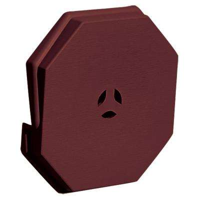 6.625 in. x 6.625 in. #078 Wineberry Surface Universal Mounting Block