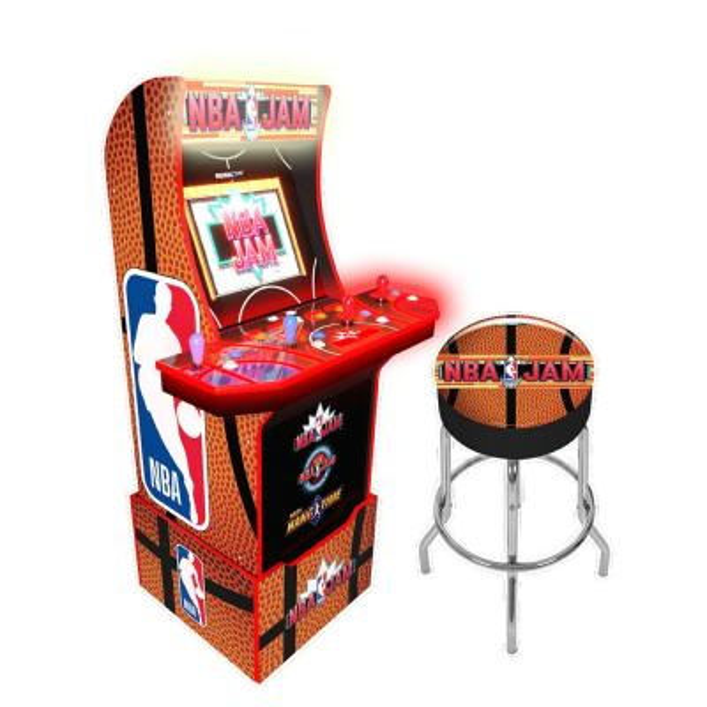 NBA Jam with Stool/Riser/Marquee Arcade