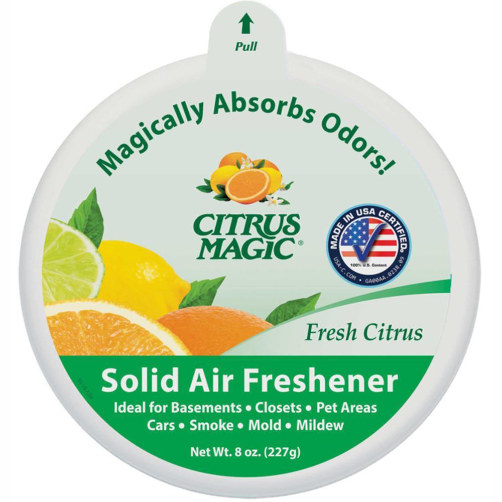 Citrus Magic 8 oz. Fresh Citrus Odor Absorbing Solid Air ...