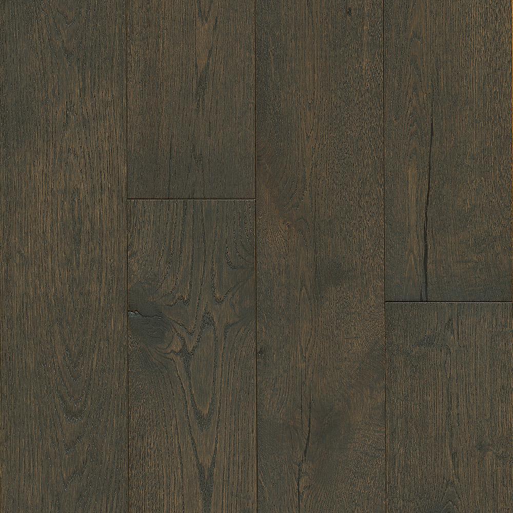 Revolutionary Rustics White Oak Near Black 1/2 in T x 7-1/2 in. W x Varying L Engineered Hardwood Flooring (25.7 sq.ft.)