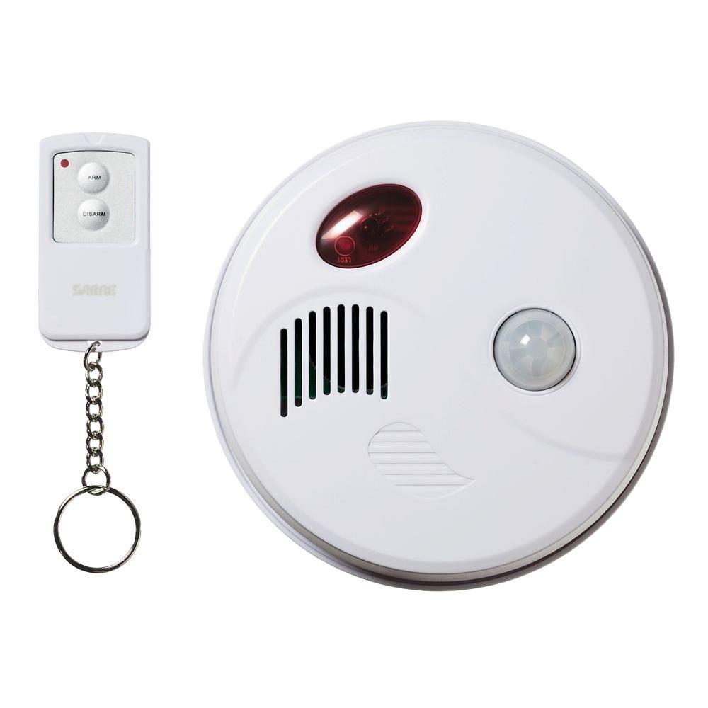 Sabre Motion Sensor Ceiling Alarm Hs Msca The Home Depot