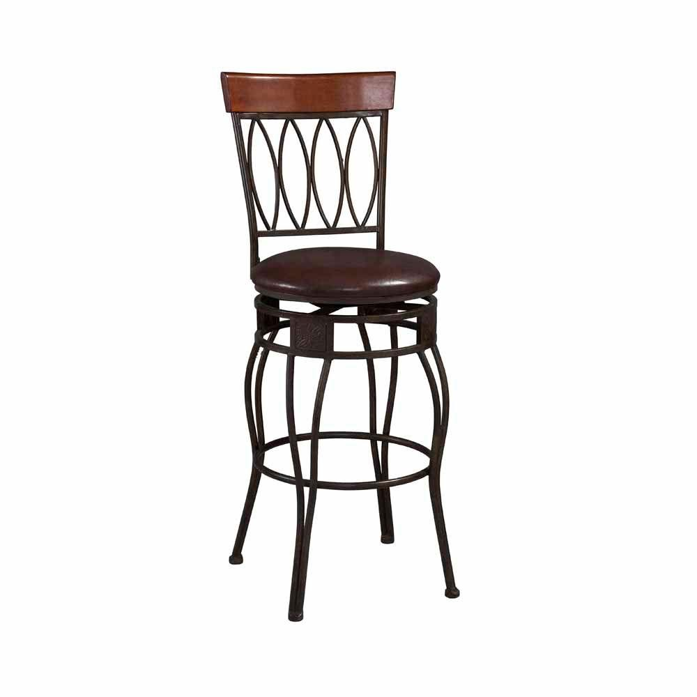 home decorators collection oval back counter stool