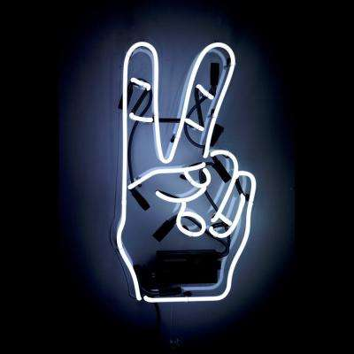 Oliver Gal 'Peace' Plug-in Neon Lighted Sign