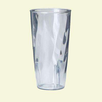 12.7 oz. Polycarbonate Swirl Pattern Tumbler in Clear (Case of 36)