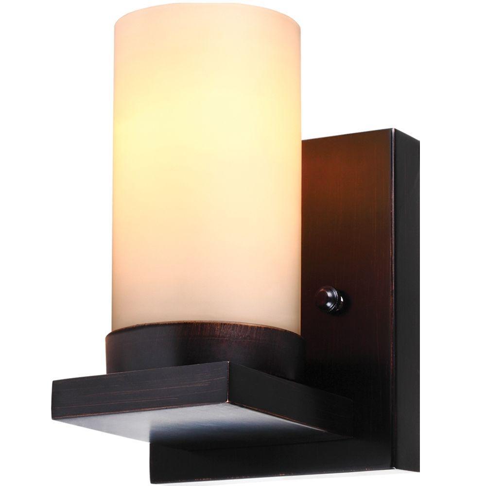 Ellington 1-Light Burnt Sienna Sconce