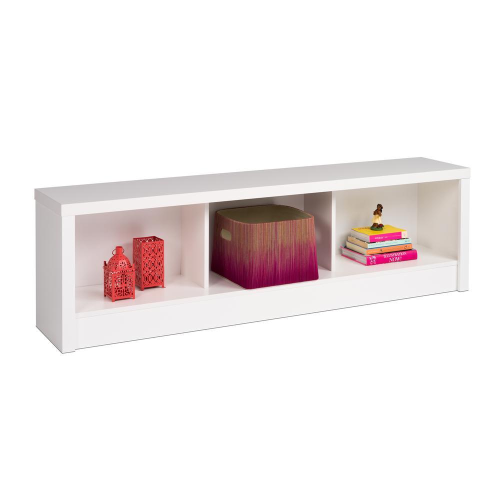 Calla White Storage Bench by