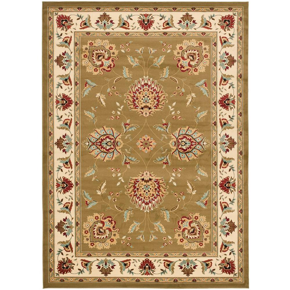 Safavieh Treasures Brown Caramel 8 Ft 9 In X 12 Area Rug