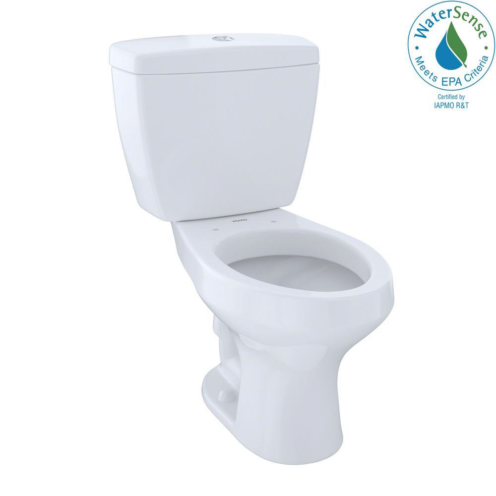 Rowan 2-Piece 1.0/1.6 GPF Dual Flush Elongated Toilet in Cotton White