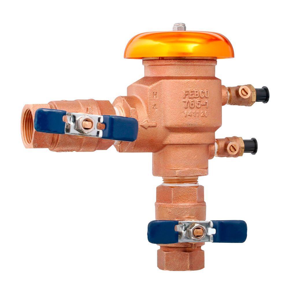 Febco 1 In Npt Bronze Pressure Vacuum Breaker