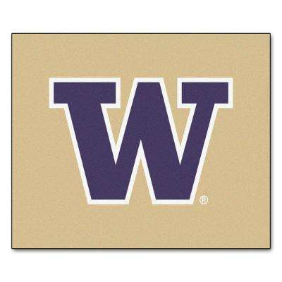 University of Washington 6 ft. x 5 ft. Tailgater Rug
