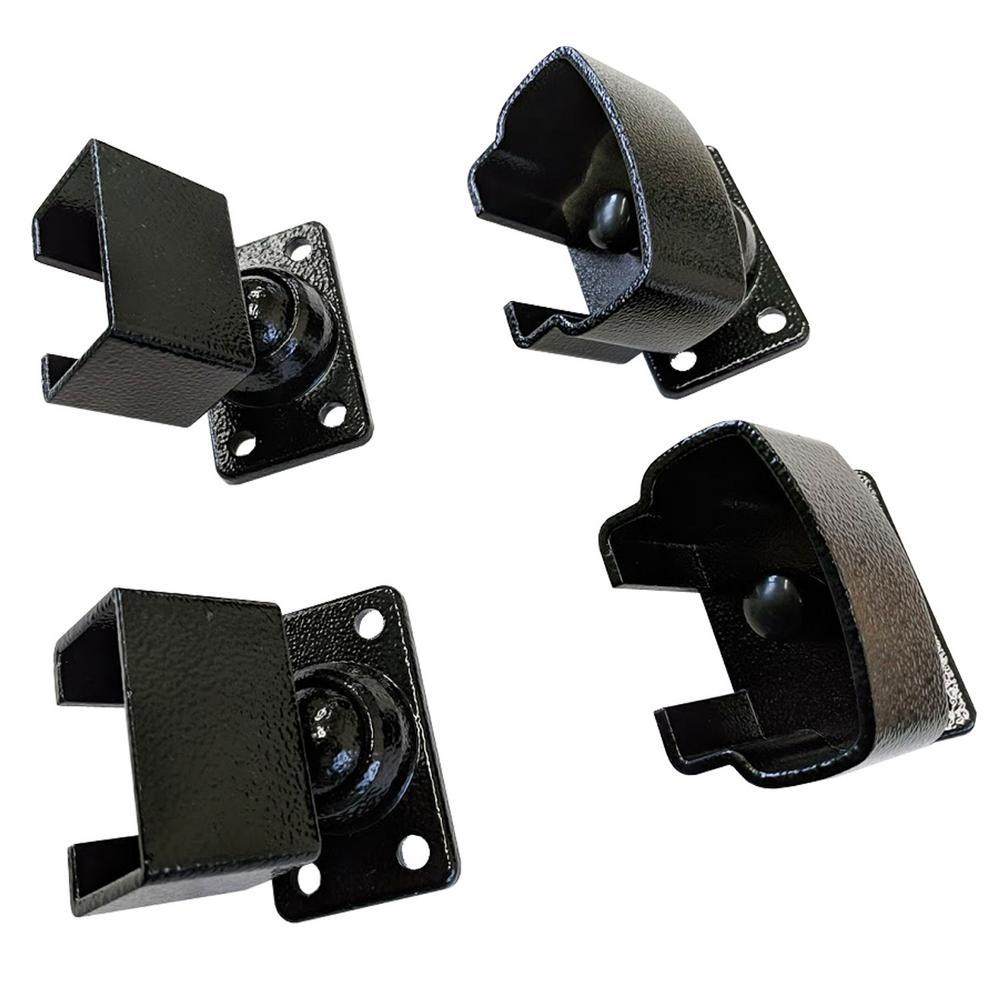 Handrail Bracket Accessory for Railing Systems with Flat Toprail Handrail Bracket Insert
