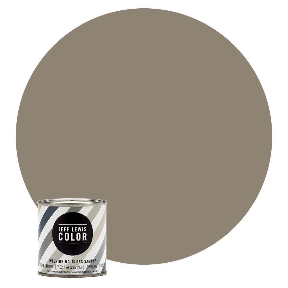 8 oz. #JLC110 Clay No-Gloss Ultra-Low VOC Interior Paint Sample