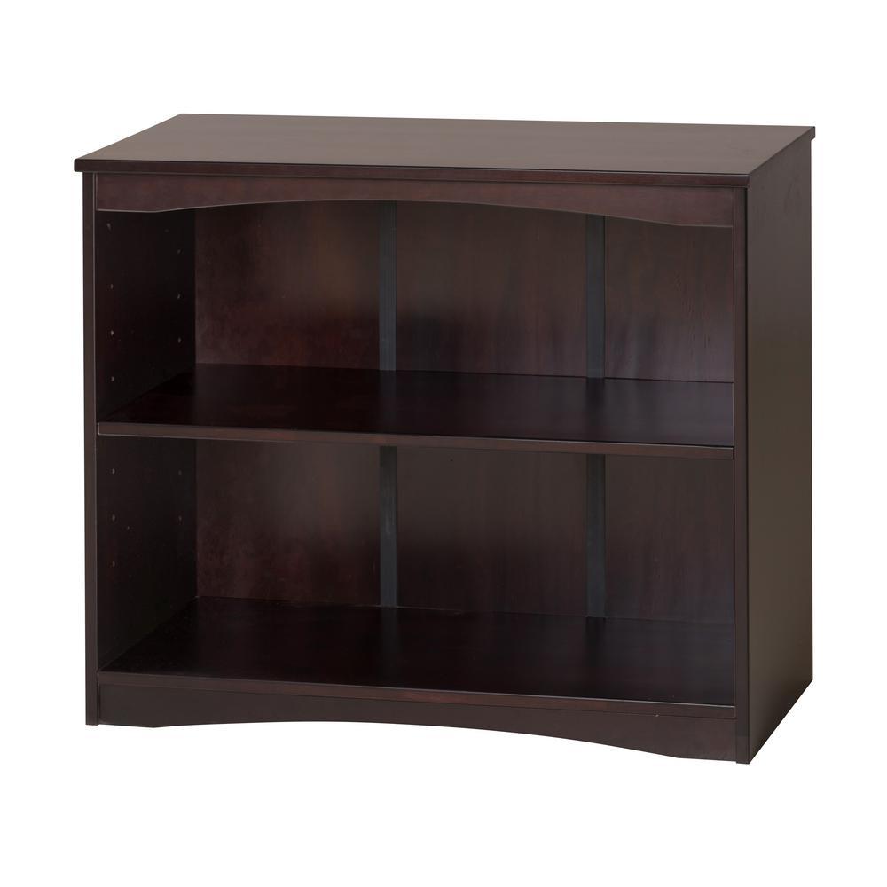 Camaflexi Essentials Cappuccino 36 in. W Wooden Bookcase