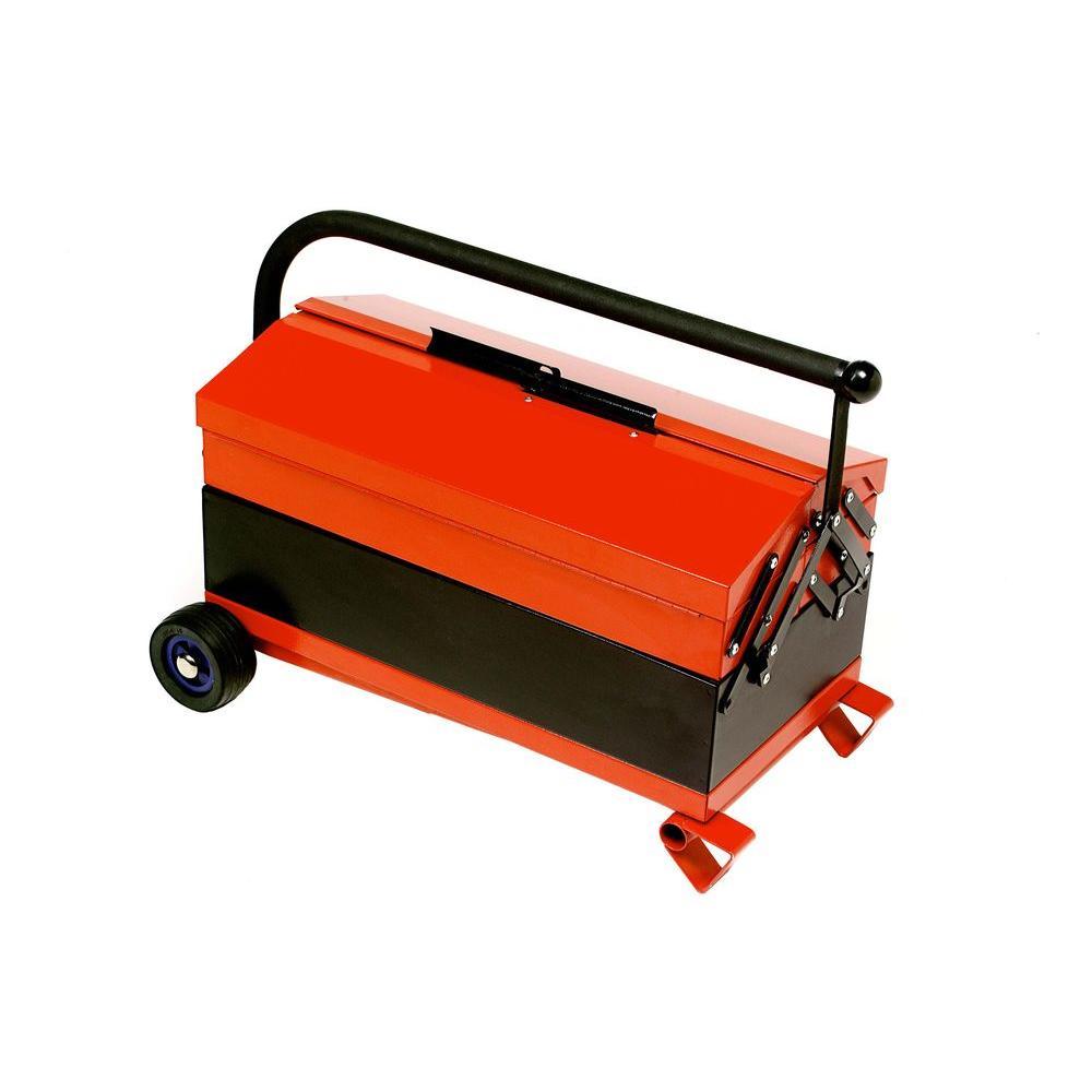 Toolstud 10-1/2 in. Adjustable-Height Rolling Tool Box
