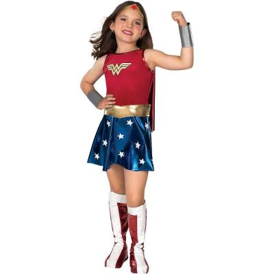 DC Comics Medium Girls Deluxe Wonder Woman Kids Costume