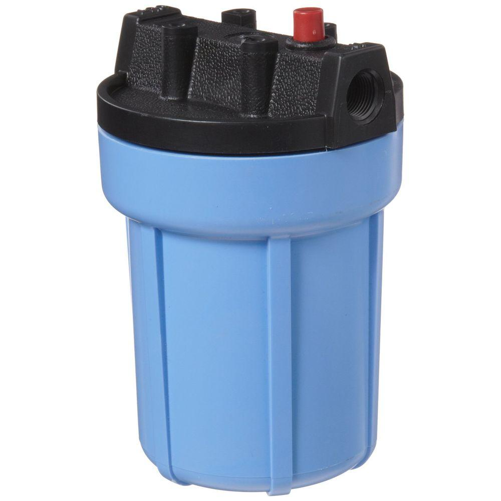 158002 3/8 in. #5 Water Filter Housing with Pressure Release -