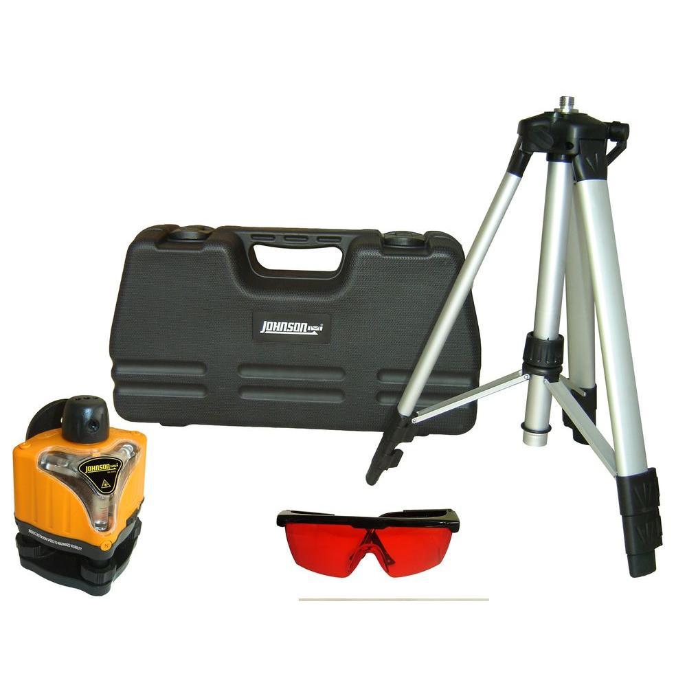 Johnson Rotary Laser Level Kit