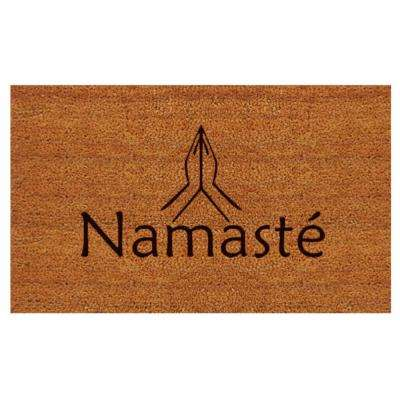 Namaste 24 in. x 36 in. Door Mat