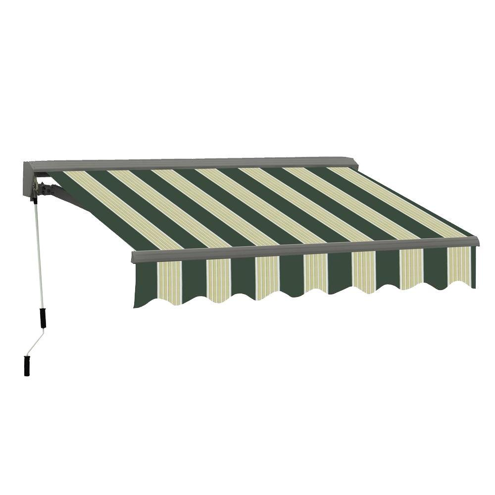 12 ft. Classic C Series Semi-Cassette Electric with Remote Retractable Awning