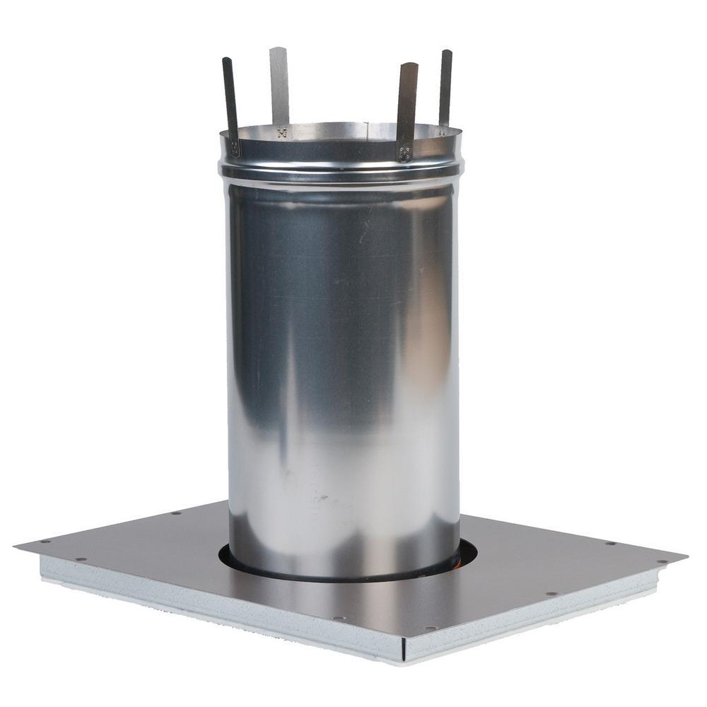 200,000 BTU Positive Pressure Horizontal Indoor Adaptor Kit for Universal H-Series Heaters
