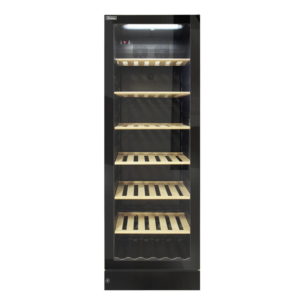 190-Bottle Wine Cooler with Glass Door