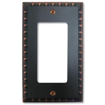 Bronze 1-Gang Decorator/Rocker Wall Plate