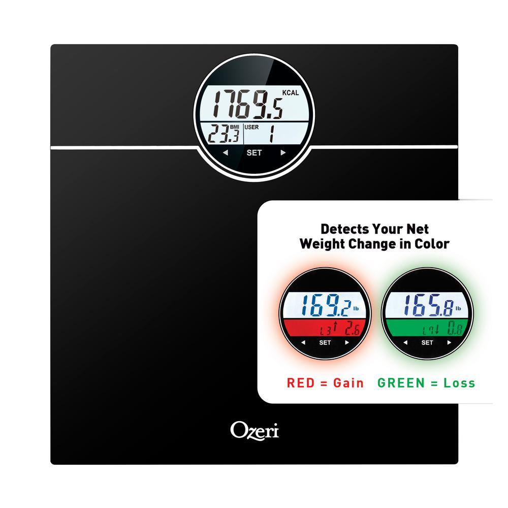 Ozeri Rev 400 Lbs Digital Bathroom Scale With Electro Mechanical