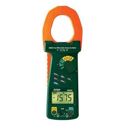 2000-Amp True RMS AC/DC Clamp Meter