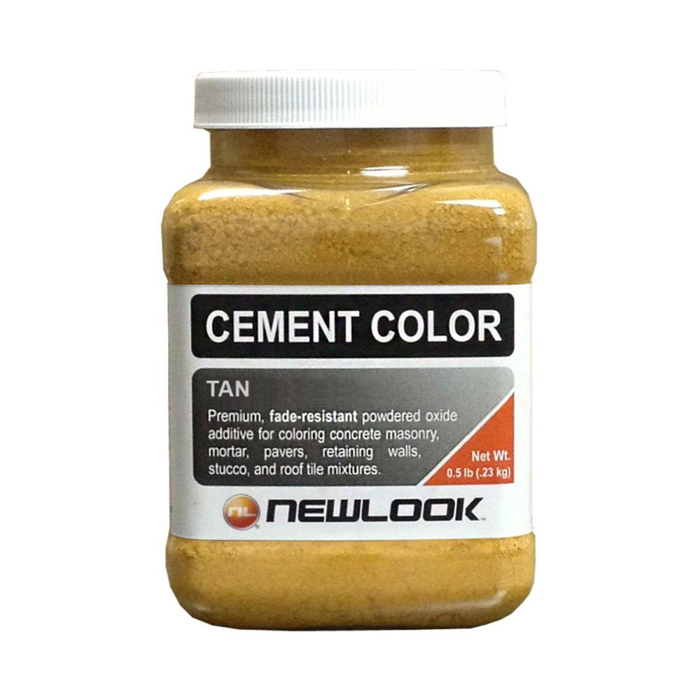0.5 lb. Tan Fade Resistant Cement Color
