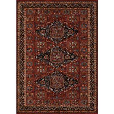Old World Classics Kashkai Burgundy 7 ft. x 10 ft. Area Rug