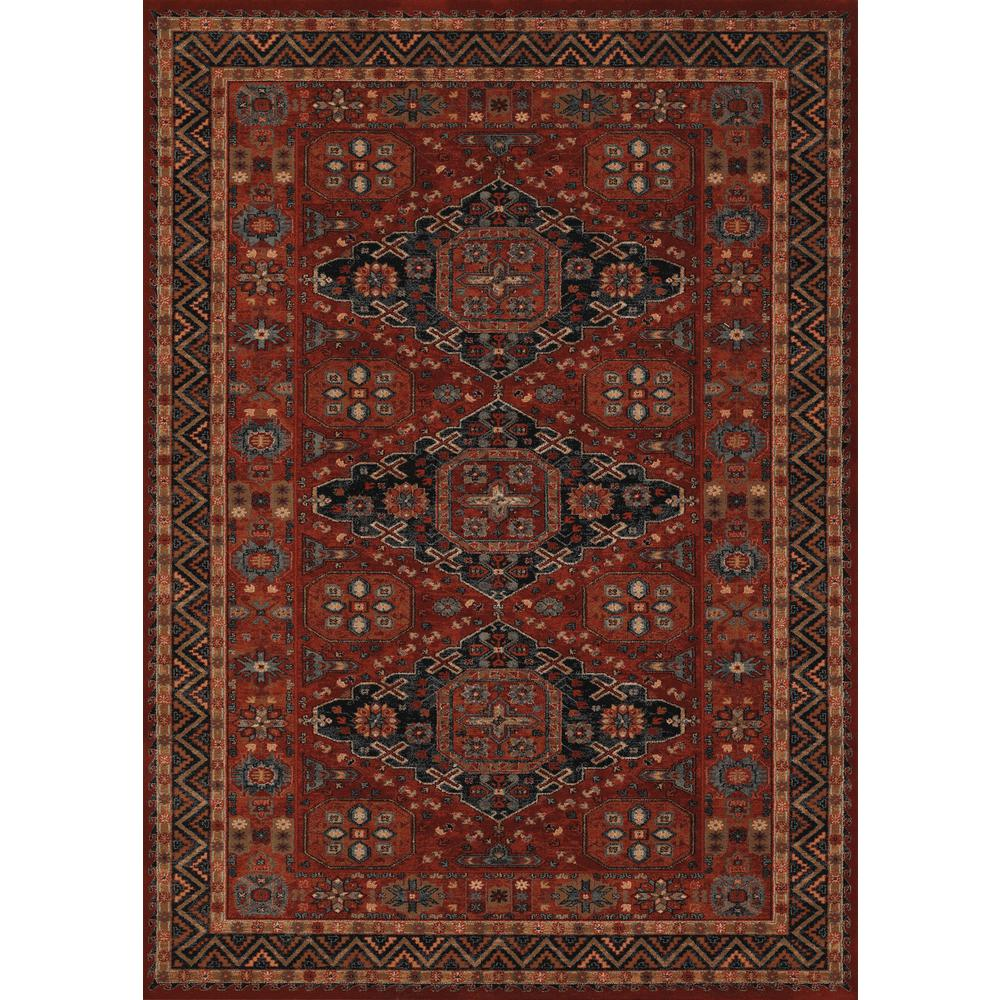 Couristan Old World Classics Kashkai Burgundy 8 Ft. X 11