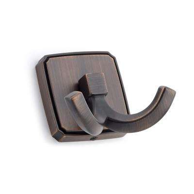 2-1/8 in. (53.6 mm) Brushed Oil-Rubbed Bronze Decorative Hook