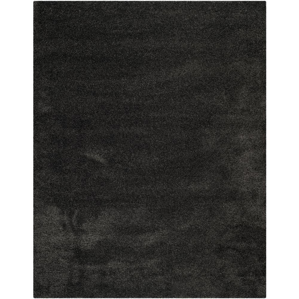 Milan Shag Dark Gray 10 ft. x 14 ft. Area Rug