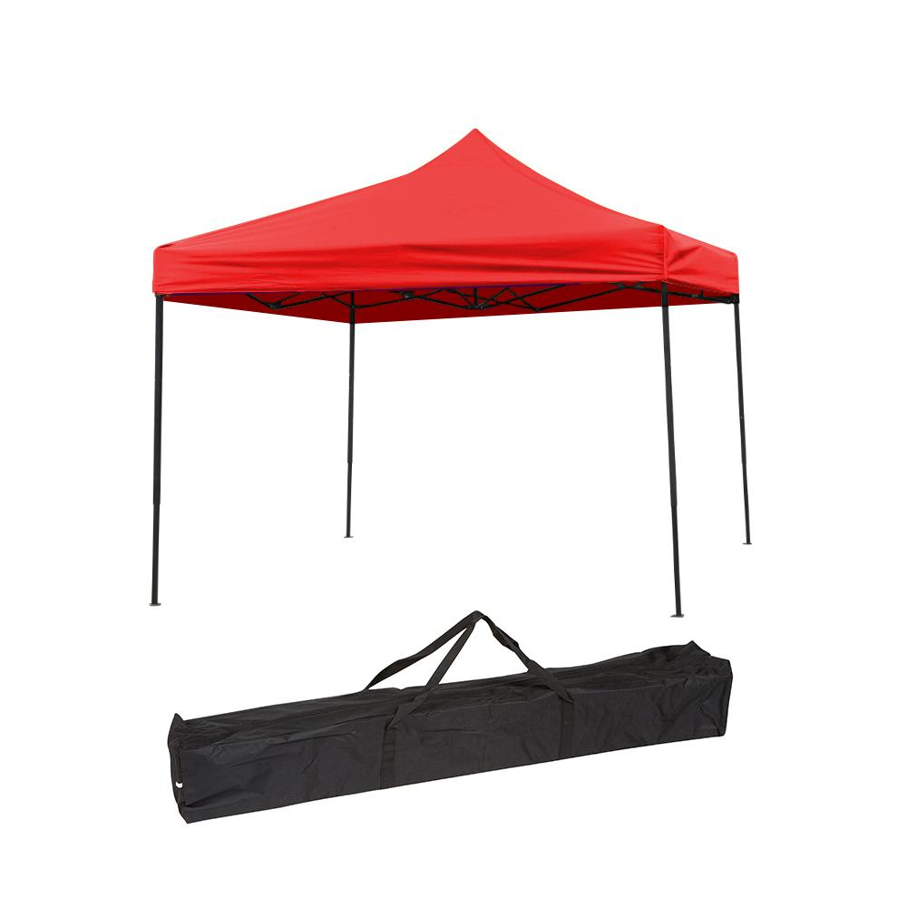 Trademark Innovations 10 ft. x 10 ft. Red Canopy Cover Li...