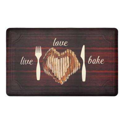 Tablet Live Love Bake 39 in. x 20 in. Gelness Mat